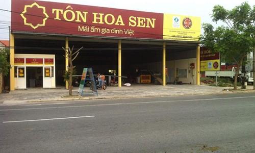 Tap doan Hoa Sen dong 70 chi nhanh, 2 van phong dai dien