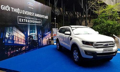Ro thong tin Ford Everest giam gia toi 123 trieu dong