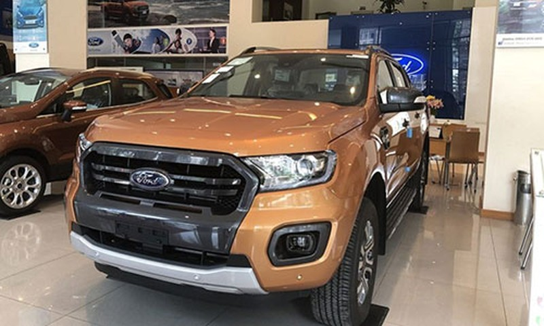 Xe Ford Ranger, EcoSport va Explorer dinh loi tai VN
