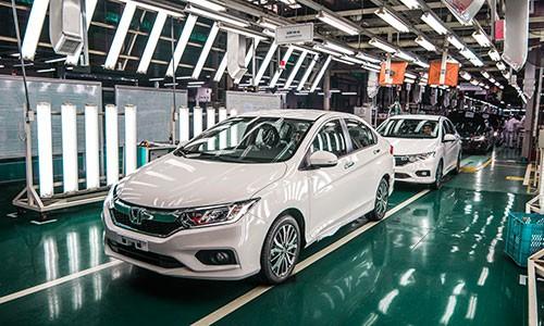 Honda Viet Nam van dan dau ve mang kinh doanh xe may