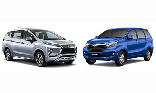Toyota Avanza vuot Mitsubishi Xpander,