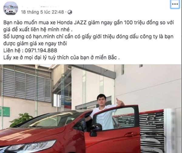 Honda Jazz tai Viet Nam