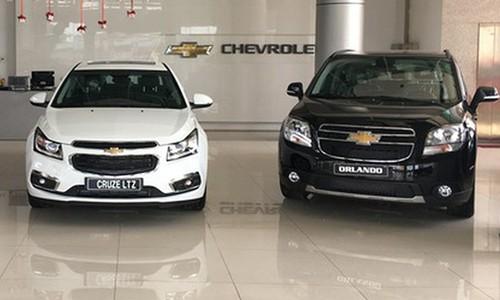 7.584 xe Chevrolet dinh loi duoc Vinfast goi trieu hoi