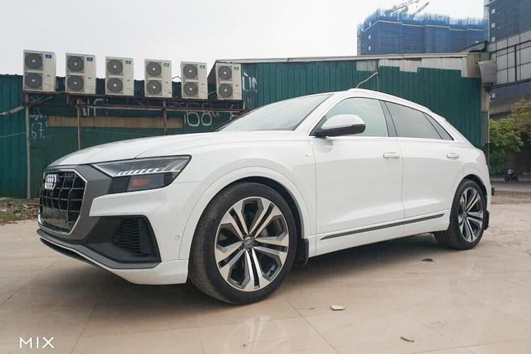"""Dap thung"" Audi Q8 2019 hon 5 ty dong o Ha Noi"