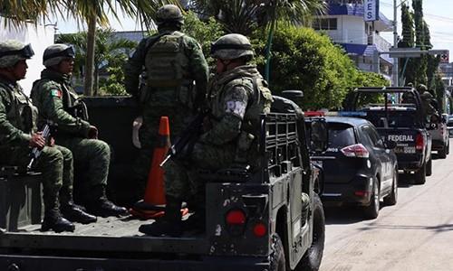 Mexico dieu 15.000 quan den bien gioi My theo thoa thuan voi TT Trump