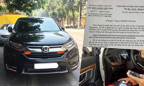 Gia xe Honda CR-V giam manh giua