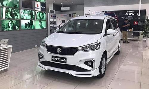 Chua ban, Suzuki Ertiga 2019 da lo