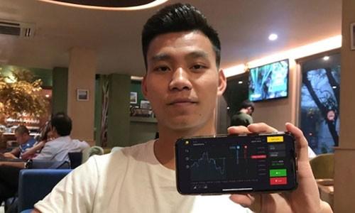 Van Thanh U23 Viet Nam, Kha Banh quang cao co bac Binomo