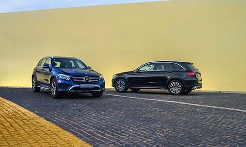 Mercedes-Benz GLC 200 - xe sang ly tuong cho khach hang Viet