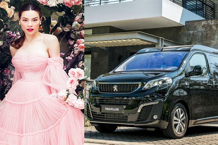 Ho Ngoc Ha tau MPV hang sang Peugeot Traveller tien ty