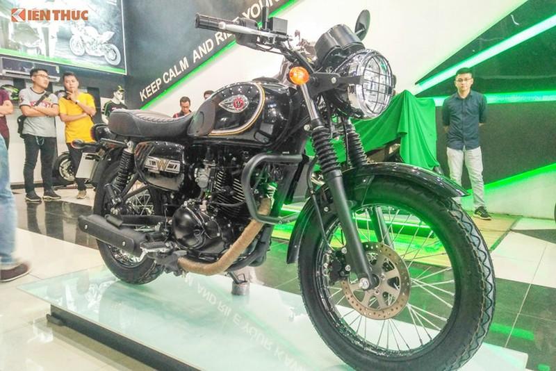 Trieu hoi xe moto gia re Kawasaki W175 tai Viet Nam