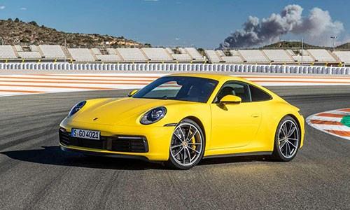 Porsche 911 2020 sap co bien the voi hop so san 7 cap