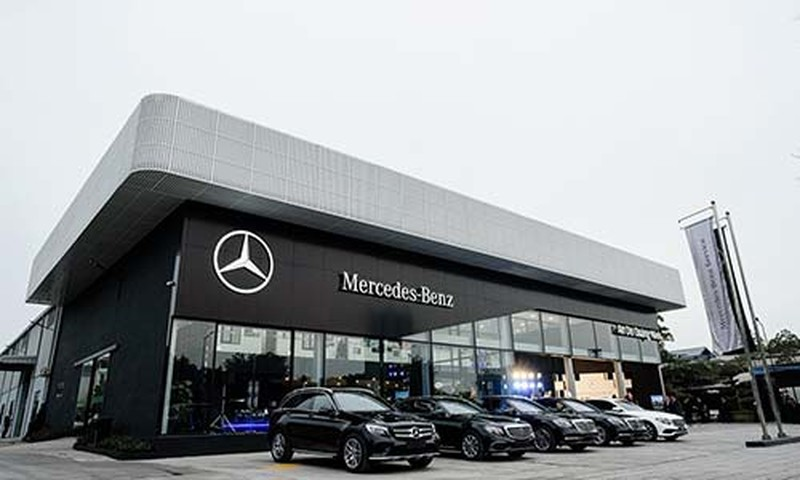 Quang Ninh co dai ly Mercedes-Benz dau tien dat chuan MAR 2020