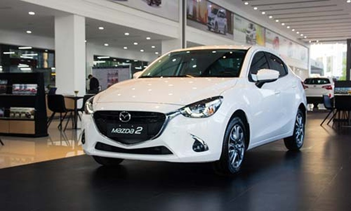 Mazda2 bat ngo xuong gia, chi con 479 trieu tai Viet Nam