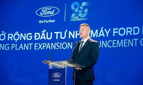 Ford Viet Nam chi 1900 ty dong nang cap nha may o Hai Duong
