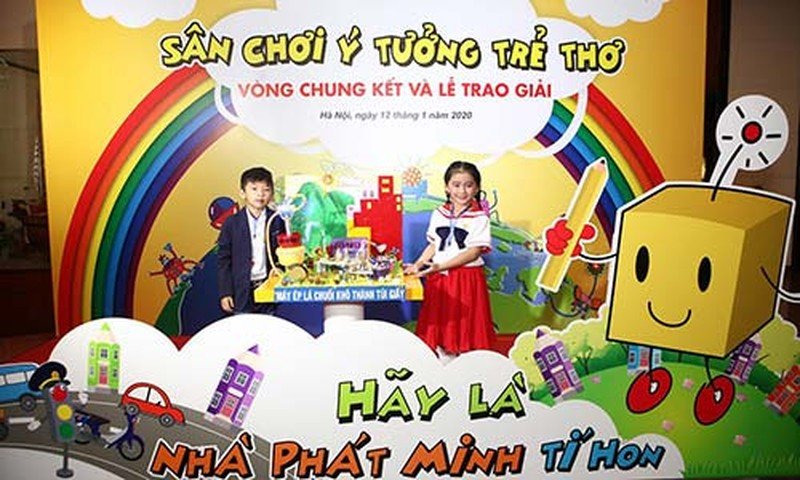 """HVN trao giai chung ket """"Cuoc thi Y tuong tre tho"""