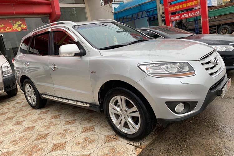 Hyundai Santa Fe SLX dung hon 10 nam ban hon 600 trieu dong-Hinh-9
