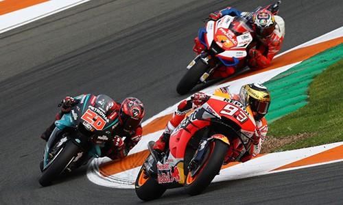 Sau F1, giai dua xe MotoGP cung tam hoan vi Covid-19