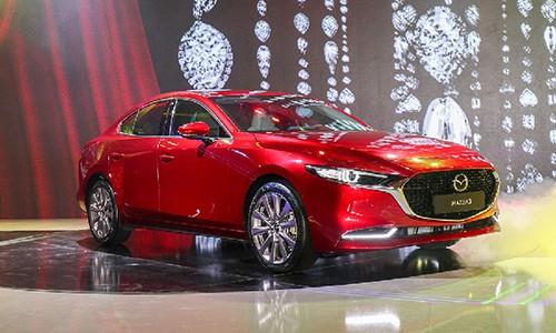 300 xe Mazda3 2020 tai Viet Nam loi phan mem phanh khan cap