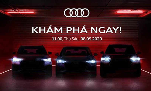 Audi Viet Nam se ra mat xe truc tuyen hau Covid-19