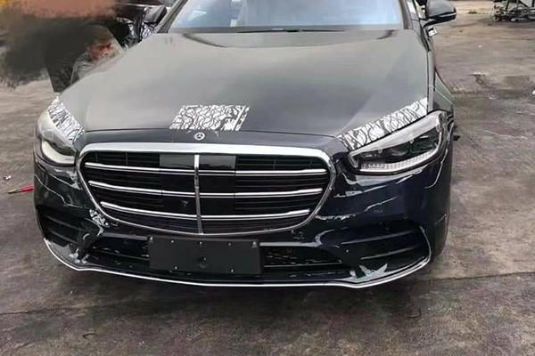 Mercedes-Benz S-Class 2021 bi che thiet ke nhu