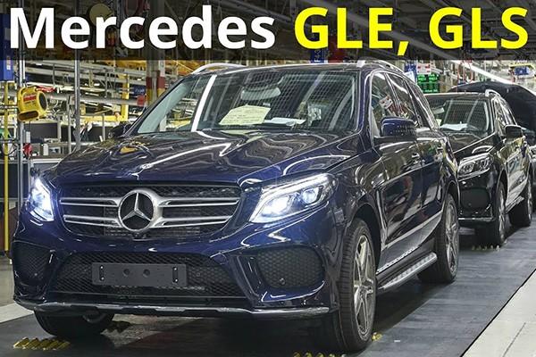 Mercedes-Benz trieu hoi GLE va GLS xu ly he thong khung gam