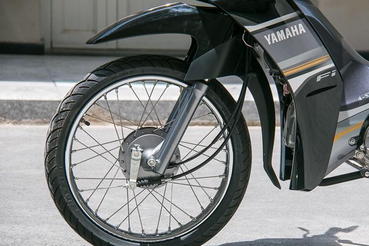 Chi tiet xe may Yamaha Sirius Fi