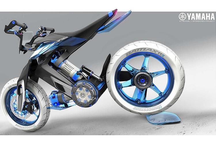 Yamaha XT500 H20 - xe moto chay nhien lieu nuoc cho 2025-Hinh-2