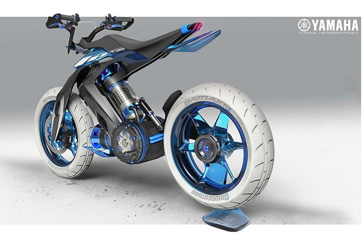 Yamaha XT500 H20 - xe moto chay nhien lieu nuoc cho 2025-Hinh-4