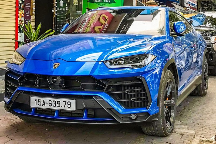 Lamborghini Urus hon 20 ty bien