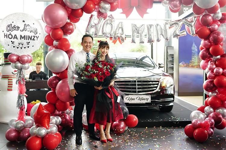 Hoa Minzy tau xe sang Mercedes-Benz S450L Luxury gan 5 ty dong-Hinh-2