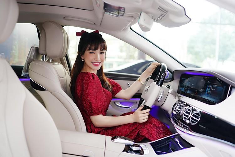 Hoa Minzy tau xe sang Mercedes-Benz S450L Luxury gan 5 ty dong-Hinh-3