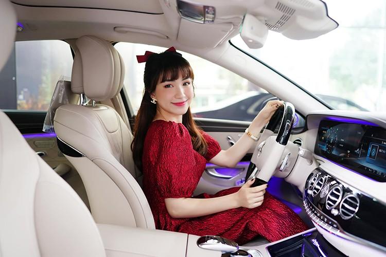 Hoa Minzy tau xe sang Mercedes-Benz S450L Luxury gan 5 ty dong-Hinh-6