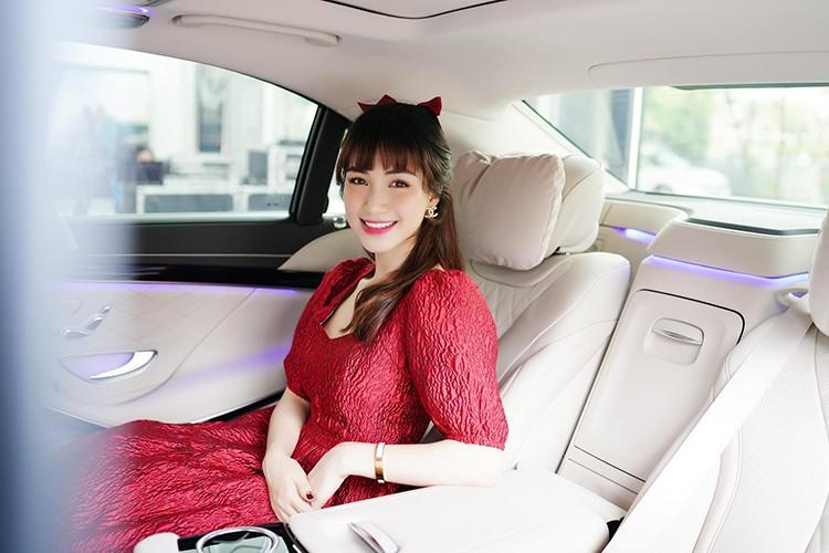 Hoa Minzy tau xe sang Mercedes-Benz S450L Luxury gan 5 ty dong-Hinh-7