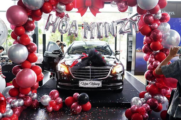 Hoa Minzy tau xe sang Mercedes-Benz S450L Luxury gan 5 ty dong