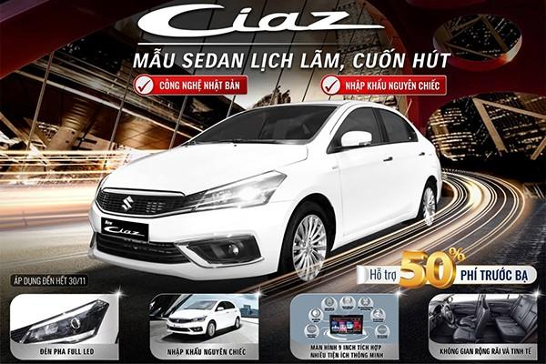 Suzuki Ciaz moi, lua chon phu hop cho doanh nhan chuyen nghiep-Hinh-3