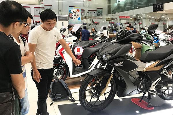 Honda Winner X tai Viet Nam bat ngo quay dau giam gia