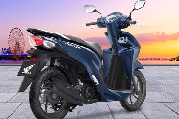 Honda Vision 2021 moi ra mat con ngon xang hon ca ban cu?