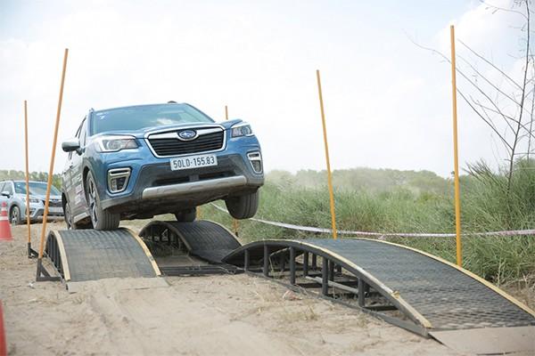 Subaru va 4 cong nghe dinh vi loi di rieng tai Viet Nam