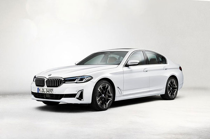 BMW 5-Series 2021 gan 2 ty sap ve Viet Nam, dau Mercedes E-Class?