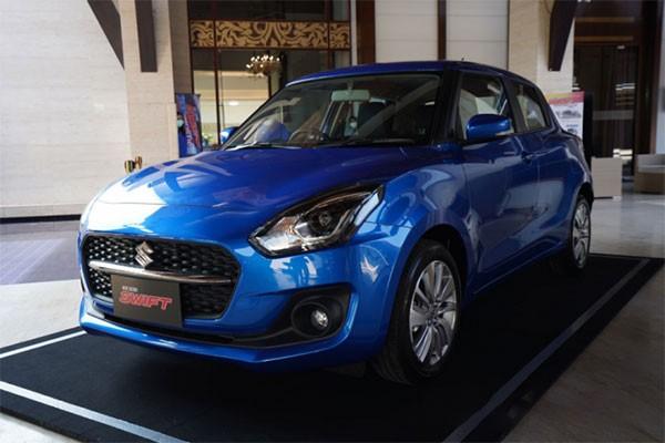 Suzuki Swift 2021 sap ra mat tai Viet Nam,