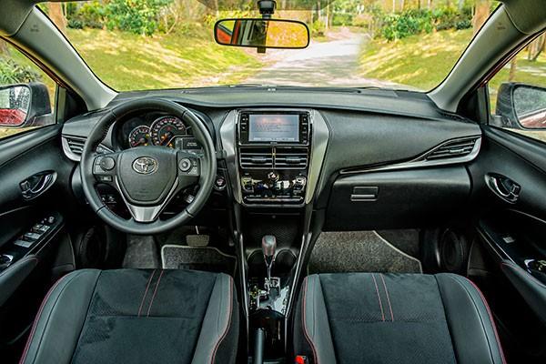 Toyota Vios 2021 thay doi de tiep tuc thong tri ngoi vuong-Hinh-3