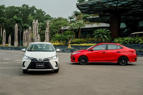 Toyota Vios 2021 thay doi de tiep tuc thong tri ngoi vuong