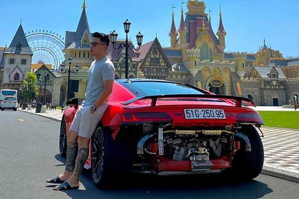 Tong Dong Khue tau McLaren 570S bien trang doc nhat Viet Nam