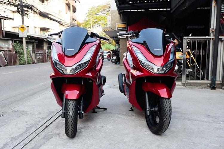 Can canh Honda PCX 160 dau tien ve Viet Nam, hon 80 trieu dong?