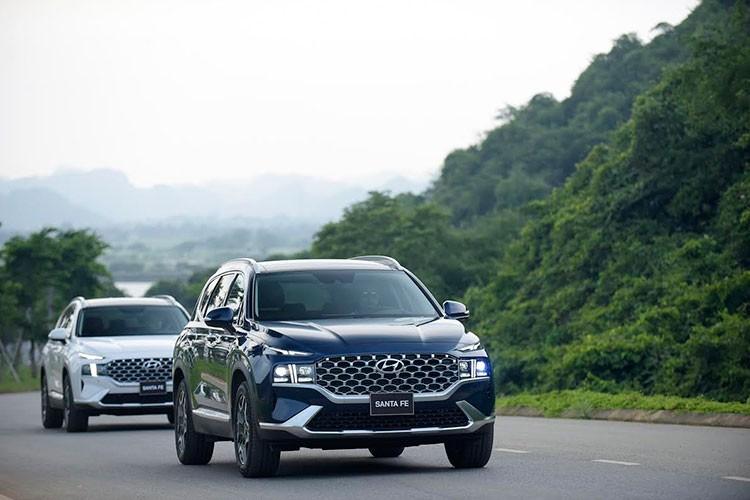 Can canh Hyundai SantaFe 2021 tu 1,03 ty dong tai Viet Nam-Hinh-12