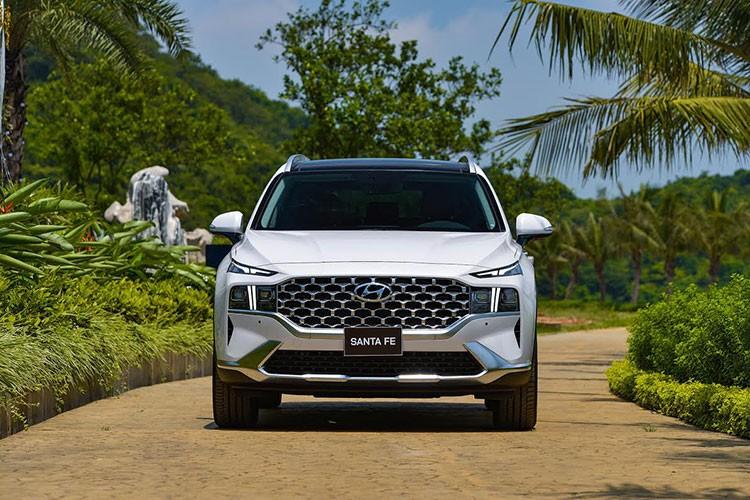 Can canh Hyundai SantaFe 2021 tu 1,03 ty dong tai Viet Nam-Hinh-2