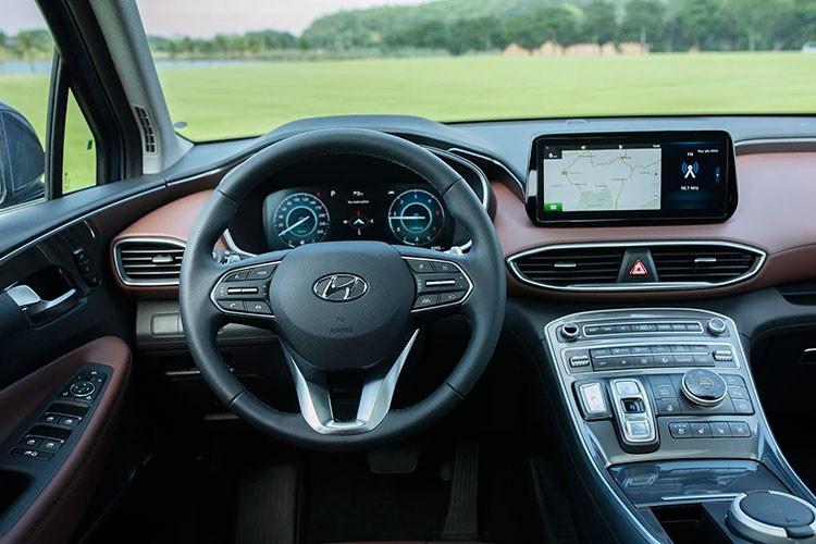 Can canh Hyundai SantaFe 2021 tu 1,03 ty dong tai Viet Nam-Hinh-8