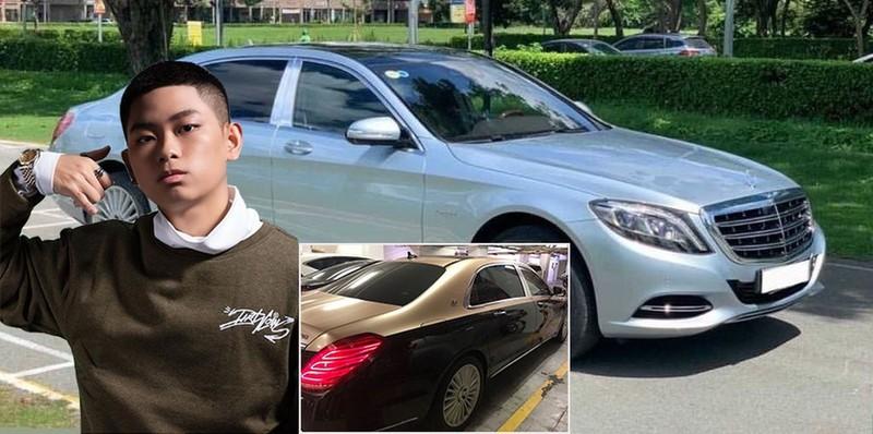 Hai chiếc xe siêu sang được Rich kid sinh năm 2003 này rao bán đều mang nhãn hiệu Mercedes-Maybach S 500 đắt tiền.