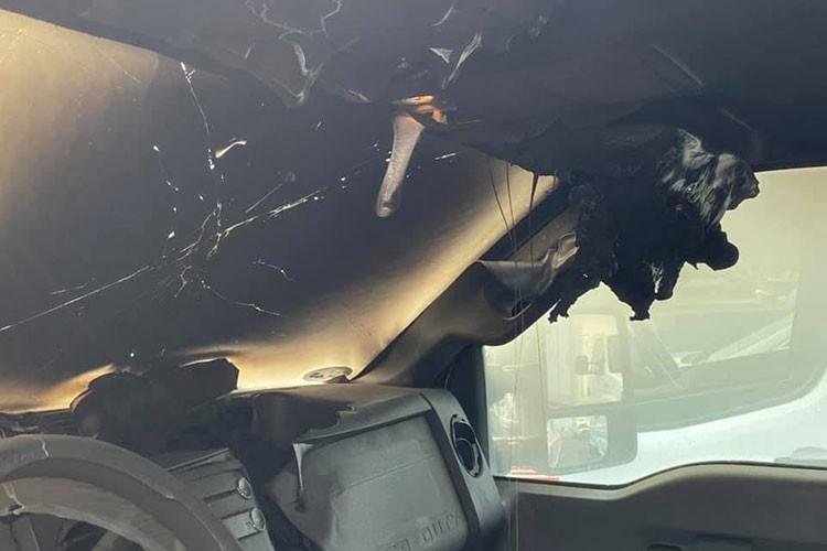 Ford Super Duty sau khi bi set danh trung se nhu the nao?